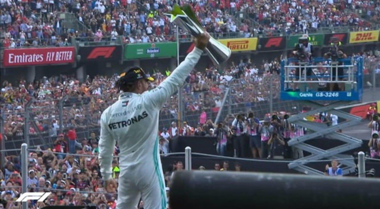 GP de México de F1 2019 Hamilton