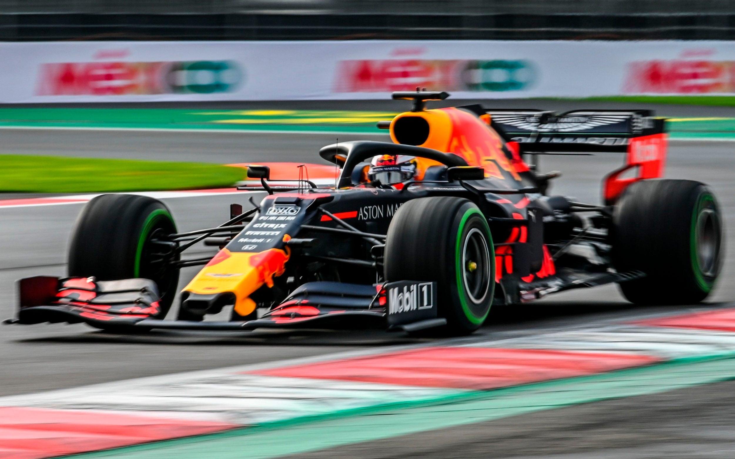 Max Verstappen México F1 2019