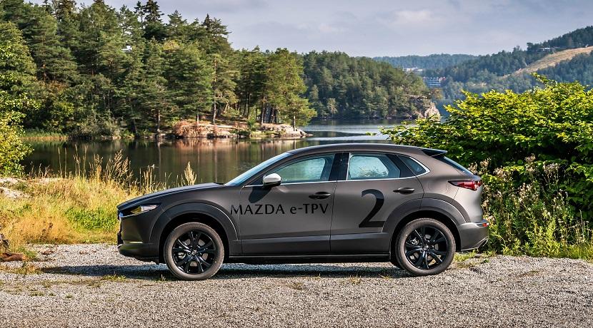 El eléctrico de Mazda basado en el e-TPV