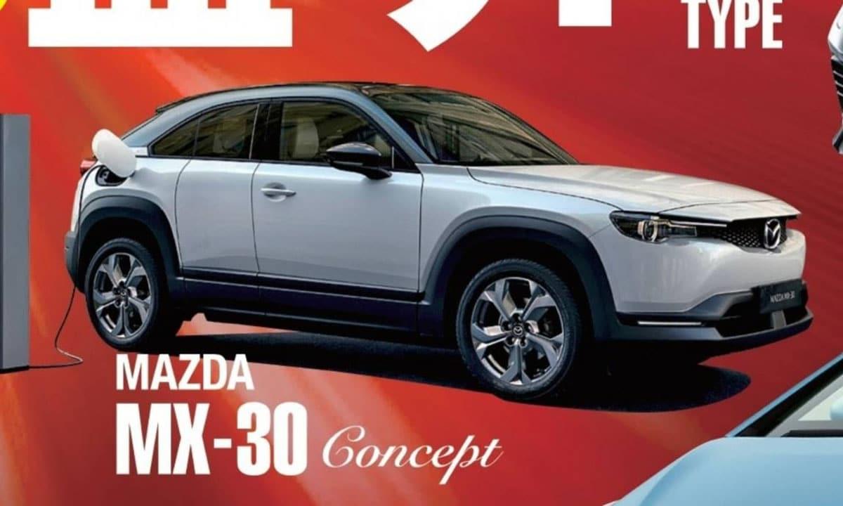 MAzda MX-30 Concept filtrado