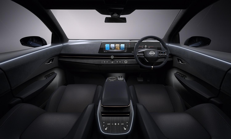 Nissan Ariya diseño interior