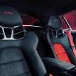 Asientos del Porsche 718 Cayman GT4 Sports Cup Edition