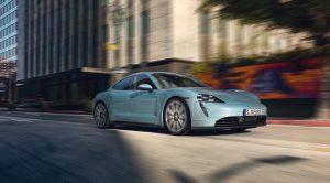 Porsche Taycan 4S dinámica