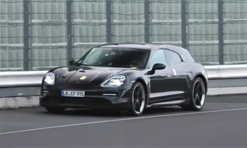 Vídeo del Porsche Taycan Cross Turismo en Nürburgring
