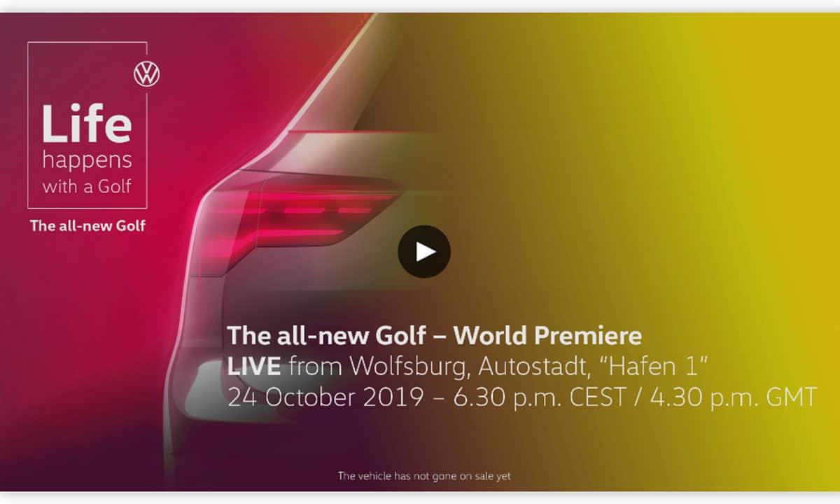 Presentación Volkswagen Golf VIII