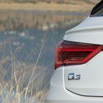 Prueba Audi Q3 Sportback detalle trasero