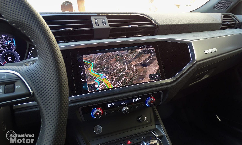 Pantalla táctil central Audi Q3