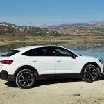 Audi Q3 Sportback perfil trasero