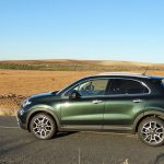 Prueba Fiat 500X Cross vista lateral