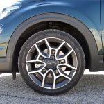 Prueba Fiat 500X Cross llantas