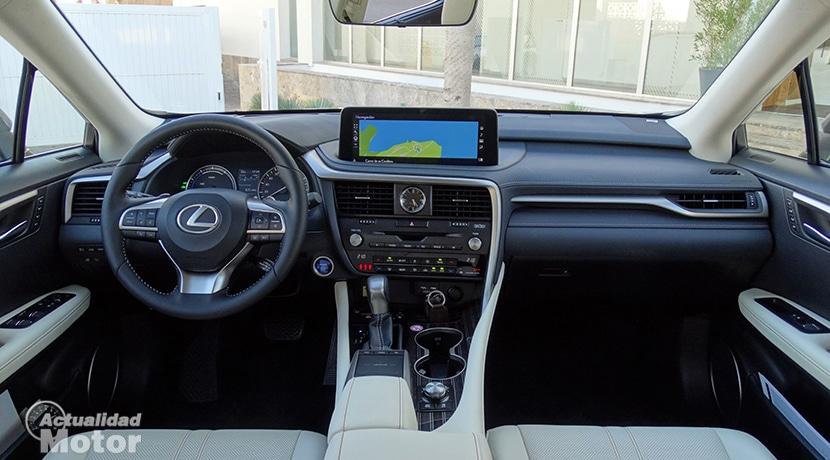 Prueba Lexus RX diseño interior