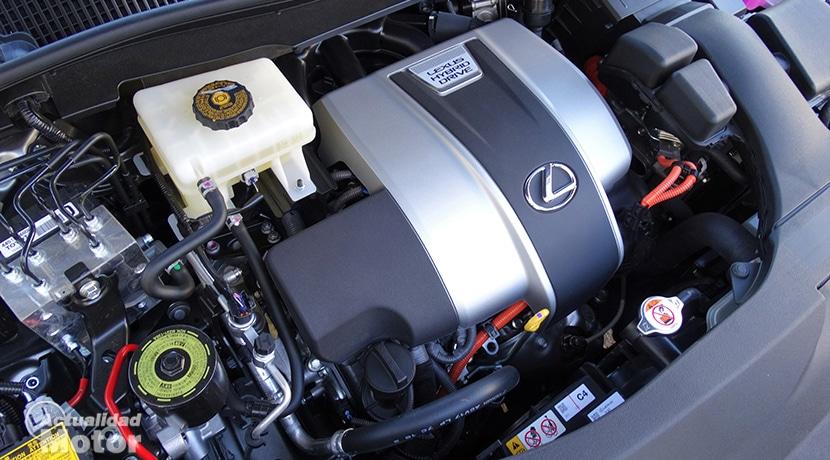 Motor V6 híbrido Lexus