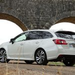 Prueba Subaru Levorg GLP perfil trasero