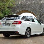 Perfil trasero del Subaru Levorg Executive Plus