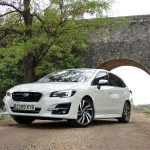 Perfil delantero Subaru Levorg Executive Plus