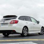 Prueba Subaru Levorg Eco Bifuel perfil trasero