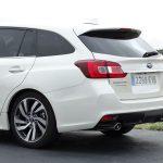 Prueba Subaru Levorg detalle parte trasera carrocería