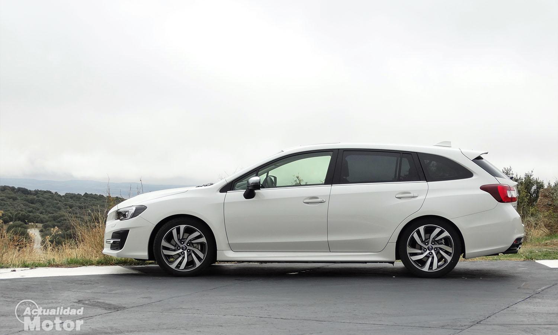 Prueba Subaru Levorg exterior lateral