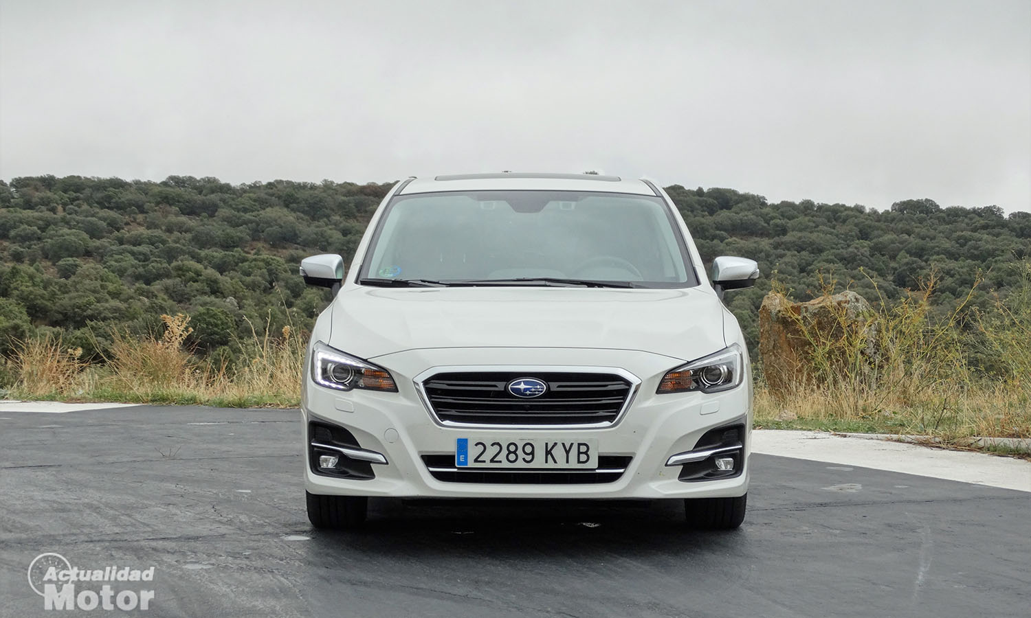 Prueba Subaru Levorg Executive Plus Eco Bi-Fuel frontal