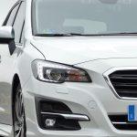 Prueba Subaru Levorg detalle frontal