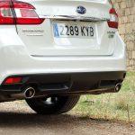 Prueba Subaru Levorg tubos de escape