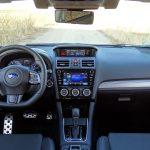 Prueba Subaru Levorg diseño interior