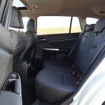 Plazas traseras del Subaru Levorg