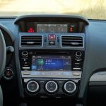 Prueba Subaru Levorg consola central