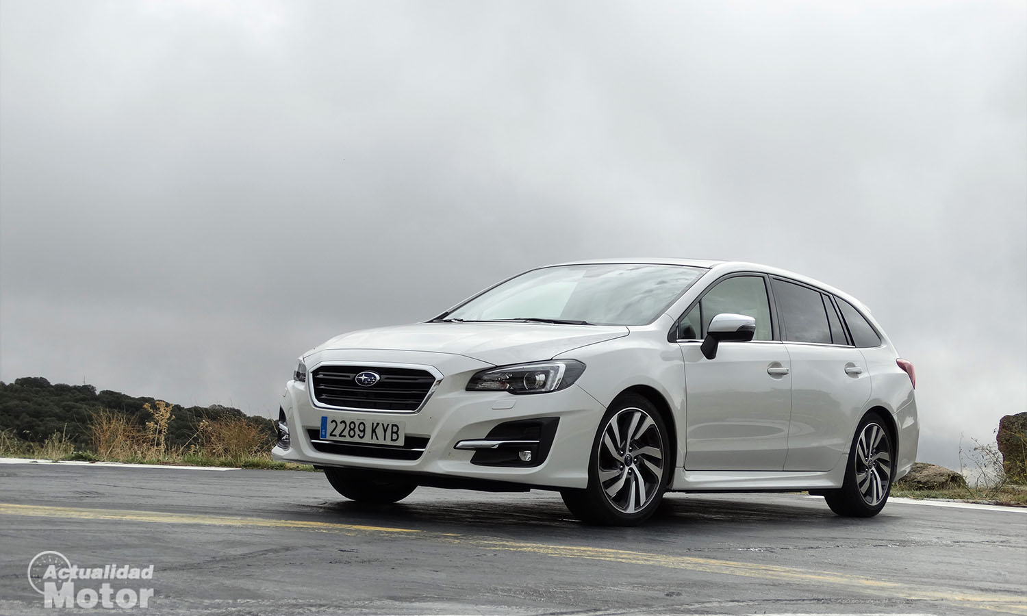 Prueba Subaru Levorg Executive Plus 150 CV Eco Bi-Fuel GLP