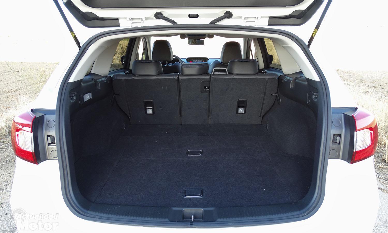 Prueba Subaru Levorg GLP maletero