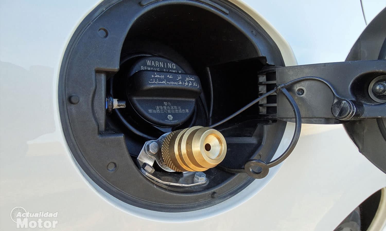 Subaru Levorg adaptador para recarga de GLP