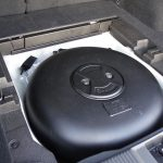 Prueba Subaru Levorg depósito de GLP en el maletero