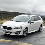 Prueba Subaru Levorg GLP perfil delantero