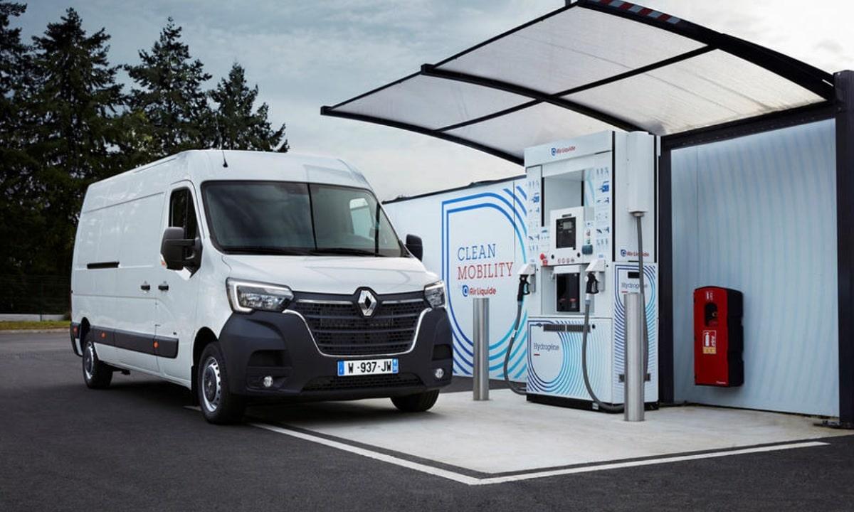 Furgonetas eléctricas de Renault con extensor de autonomía de hidrógeno