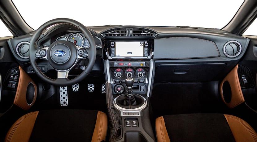 Subaru BRZ Special Edition interior