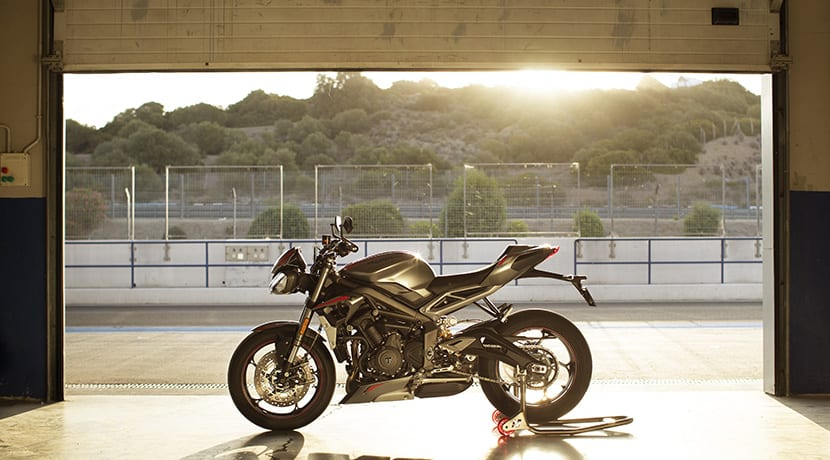 Triumph Street Triple RS 2020 lateral