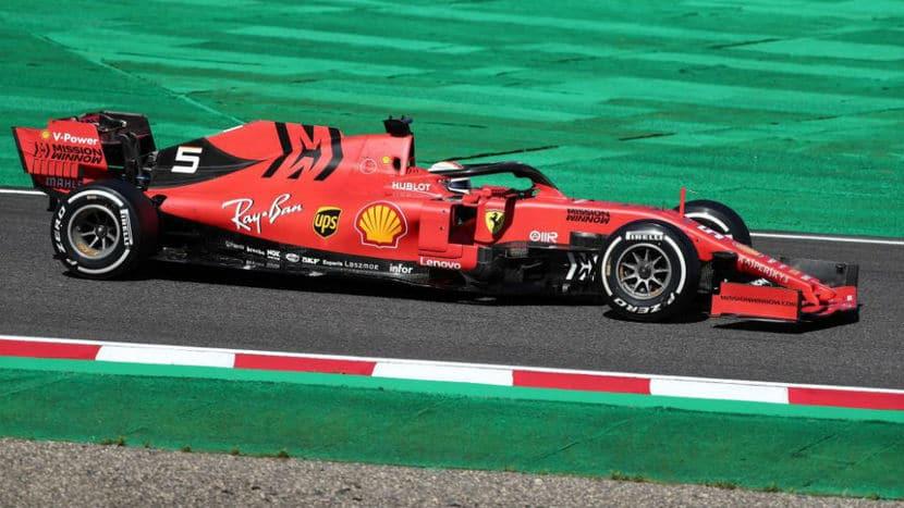 Vettel Japon 2019