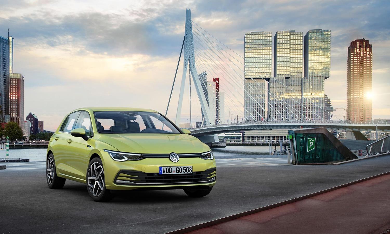 Nuevo Volkswagen Golf delantera