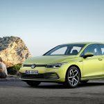 Nuevo Volkswagen Golf perfil delantero