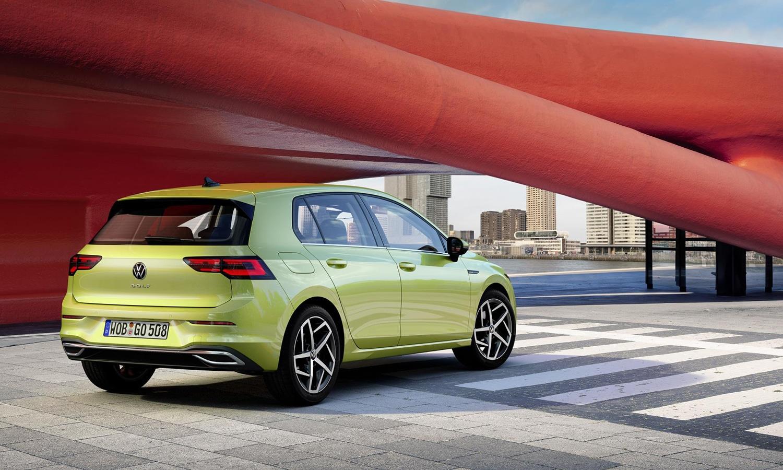 Nuevo Volkswagen Golf perfil trasero