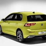 Volkswagen Golf mkviii perfil trasero