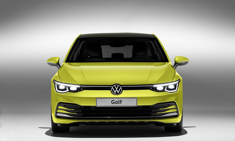 Volkswagen Golf mkviii frontal