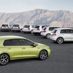 Volkswagen Golf ocho generaciones