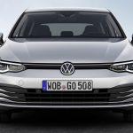 Volkswagen Golf mk8 frontal