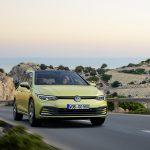 Volkswagen Golf dinámica frontal