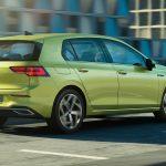 Volkswagen Golf perfil trasero