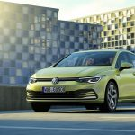 Volkswagen Golf perfil delantero