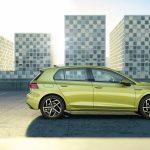 Nuevo Volkswagen Golf de lado