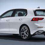 Volkswagen Golf 2020 perfil trasero