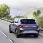 Volkswagen T-Roc R perfil trasero dinámica